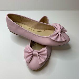 Sam Edelman Circus Ciera Pink Bow Ballet Flats